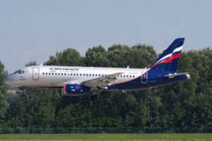 Aeroflot Signed Agreement for the Delivery of 100 SSJ100
