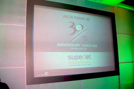 Superjet International - SuperJet International inaugurates Alta