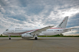 First Sukhoi Superjet 100 delivered to CityJet