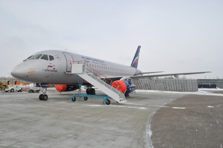 Aeroflot 7th SSJ100 Georgy Benkunsky