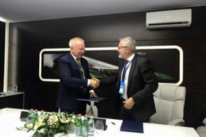 OEMServices and SCAC sign an MOU to develop SSJ100 Component Services
