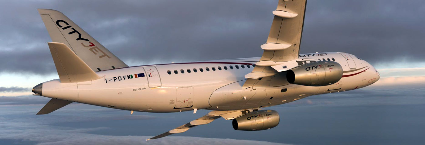 SSJ100: Fly more with CityJet