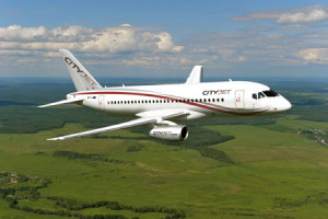 CityJet chooses the SSJ100 aircraft for fleet renewal