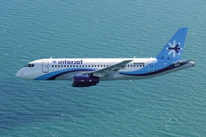 The SSJ100 Marks 1 year of Operations with Interjet