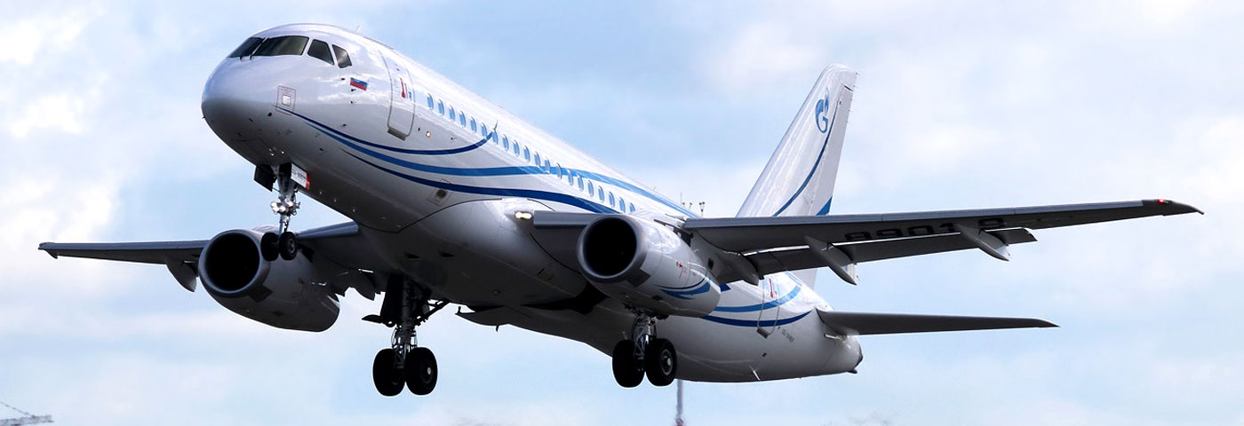 EASA Validated Sukhoi Superjet LR Version