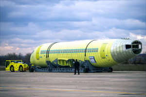 Fatigue Strength Testing of Sukhoi Superjet 100 Long Range Started in TsAGI