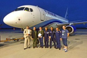 SSJ100 achieves three additional EASA Certifications