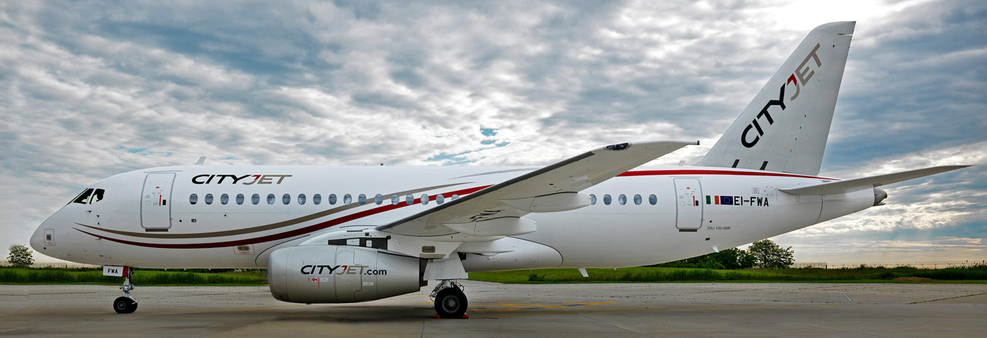 First SSJ100 delivered to CityJet