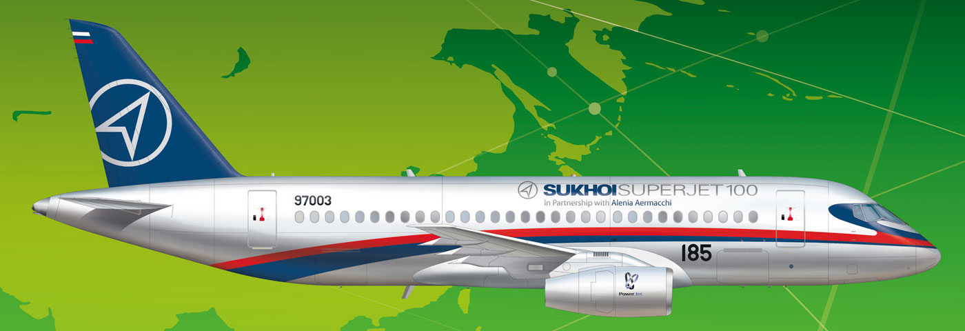 SSJ100 New Liveries Section